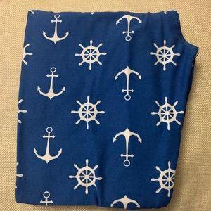 Lularoe Nautical leggings Tween